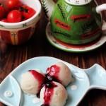 蓝莓山药冰淇淋
