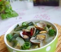 冬瓜海带花蛤汤