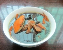 土茯苓生地煲青蟹汤