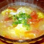 鲜蛤西红柿汤