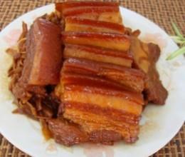 金针菜蒸肉