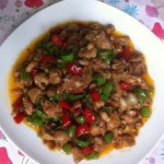 小米椒炒鸡丁