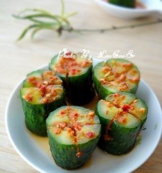 韩式辣黄瓜