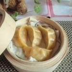 红萝卜猪肉蒸饺