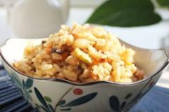 香菇五花肉焖饭