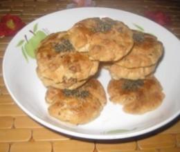 黑芝麻核桃肉松桃酥