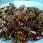 白辣椒炒肉