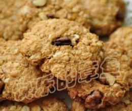 低脂燕麦核桃饼