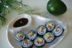 牛油果手卷寿司