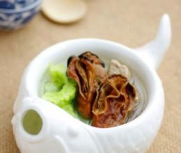 蚝豉瘦肉凉瓜汤