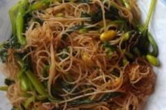 鸡毛菜炒榨面