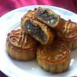 黑芝麻火腿月饼