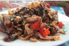 红辣椒炒外婆菜