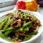 蛇瓜炒魷魚