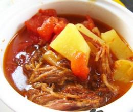 剩菜番茄土豆浓汤