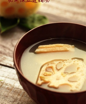 花生莲藕绿豆汤
