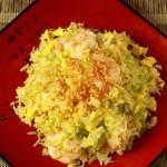 蒜香虾仁炒饭