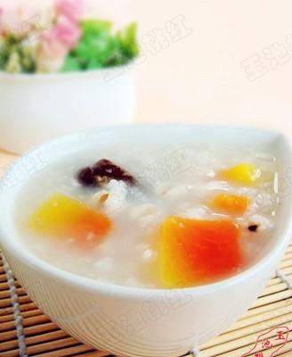 木瓜薏米粥