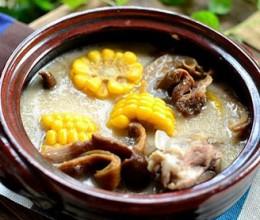 豆浆菌菇玉米煲