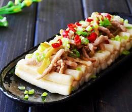 榨菜肉丝炒年糕