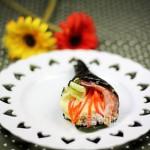 北極蝦手卷壽司