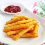 自制美味薯条
