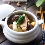 香菇炖老母鸡