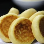 玉米面酸菜饼