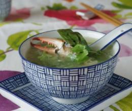 蟹肉芦笋汤