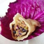 紫甘藍大肉餃子