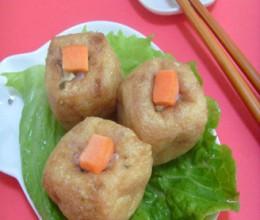 油豆腐咸菜团子