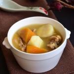 南瓜山药炖鸡汤