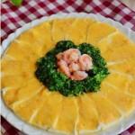 金沙虾球豆腐