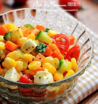 玉米蔬果沙拉