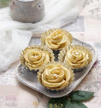 玫瑰苹果卷