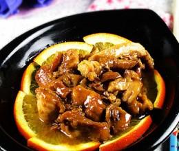 香橙鸡腿肉