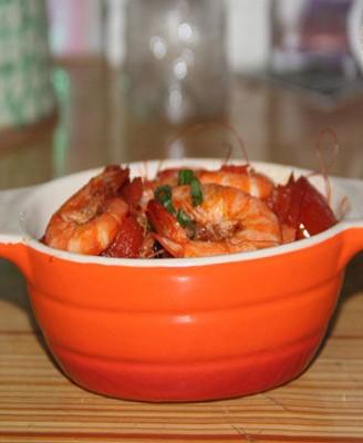 番茄炒鲜虾