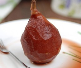 红酒炖红梨