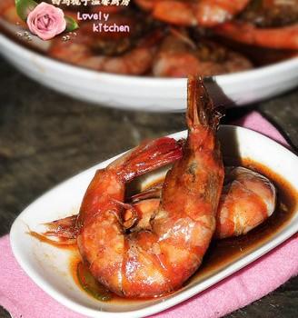 红酒油焖虾