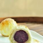 酥皮紫薯球