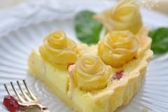 苹果花柠檬派