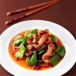 青椒豆豉盐煎肉