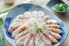 白灼白米虾