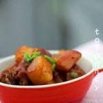 土豆焖排骨
