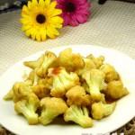 蒜香蚝油菜花