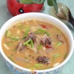 酸萝卜腊鸭汤