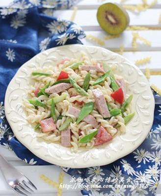 午餐肉意粉沙拉