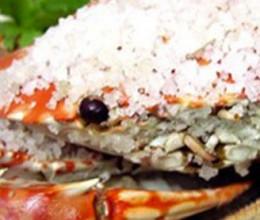 营养海盐焗蟹