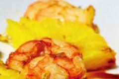 香薰菠萝虾串