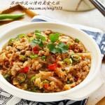 韩式肉末粉丝煲